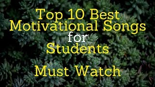 Hello everyone in this video we saw the top 10 motivational songs for students which links are as follows- 1. loser ft. dino james https://www./wa...