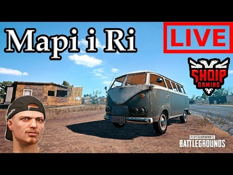Mapi i Ri në Battlegrounds LIVE !! - Battlegrounds SHQIP | SHQIPGaming