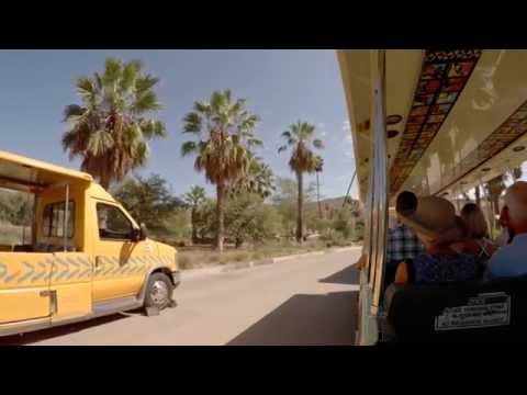 San Diego Zoo Safari Park Africa Tram 2015 Entire Route