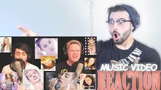 SUPERFRUIT - EVOLUTION OF MILEY CYRUS | Music Video Reaction