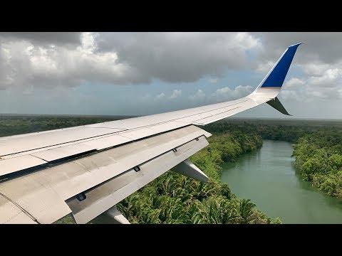 Houston (IAH) to Belize (BZE)   United 737-800   Economy