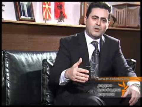 Имер Селмани - Лидер на Нова Демократија