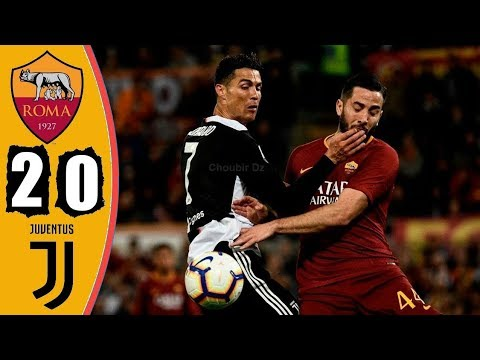 Roma Vs Juventus 2 0 Serie A 12 05 2019 Youtube