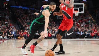 Jayson Tatum 36 Points Coast to Coast Dunk vs Blazers! 2019-20 NBA Season