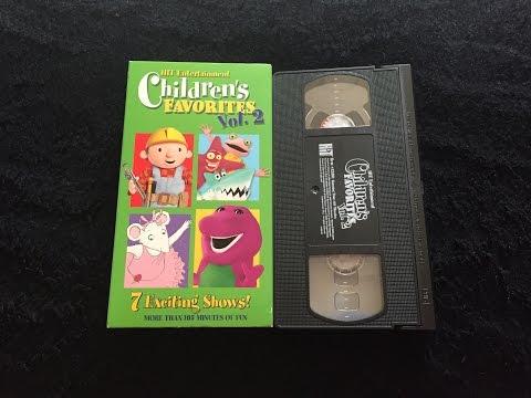 Opening & Closing To Hit Entertainment Children's Favorites: Volume 2 2004 VHS