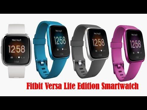 Fitbit Versa Lite Edition Smartwatches 2019 | Best Fitbit Versa Fitness Smartwatch in India