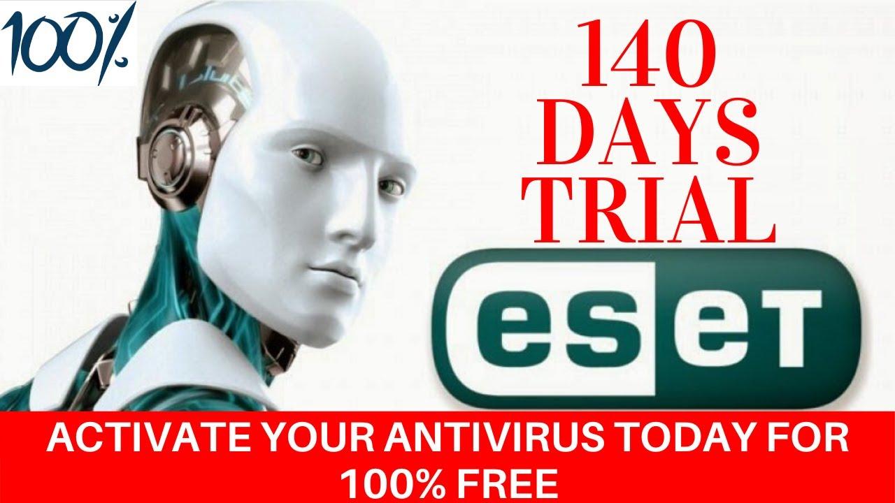 ESET NOD32 Antivirus Activation key for 140 Days - YouTube