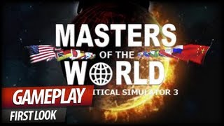 MASTERS OF THE WORLD Geopolitical Simulator 3 - Gameplay PC | HD thumbnail
