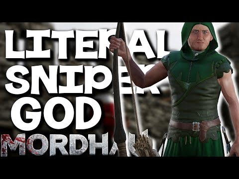 The BEST ARCHER in TOWN!! Longbow Action - Mordhau Gameplay