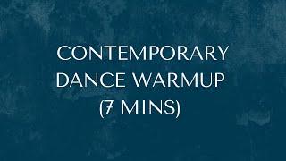 Contemporary Dance Warmup by Avantika Bahl