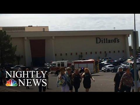Shooting At Crowded Atlanta Mall Sparks Panic; 1 Injured  NBC Nightly News