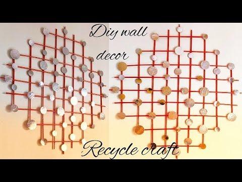 Diy Elegant Wall Decor || Recycle paper craft|| Newspaper craft || Art & Essentials