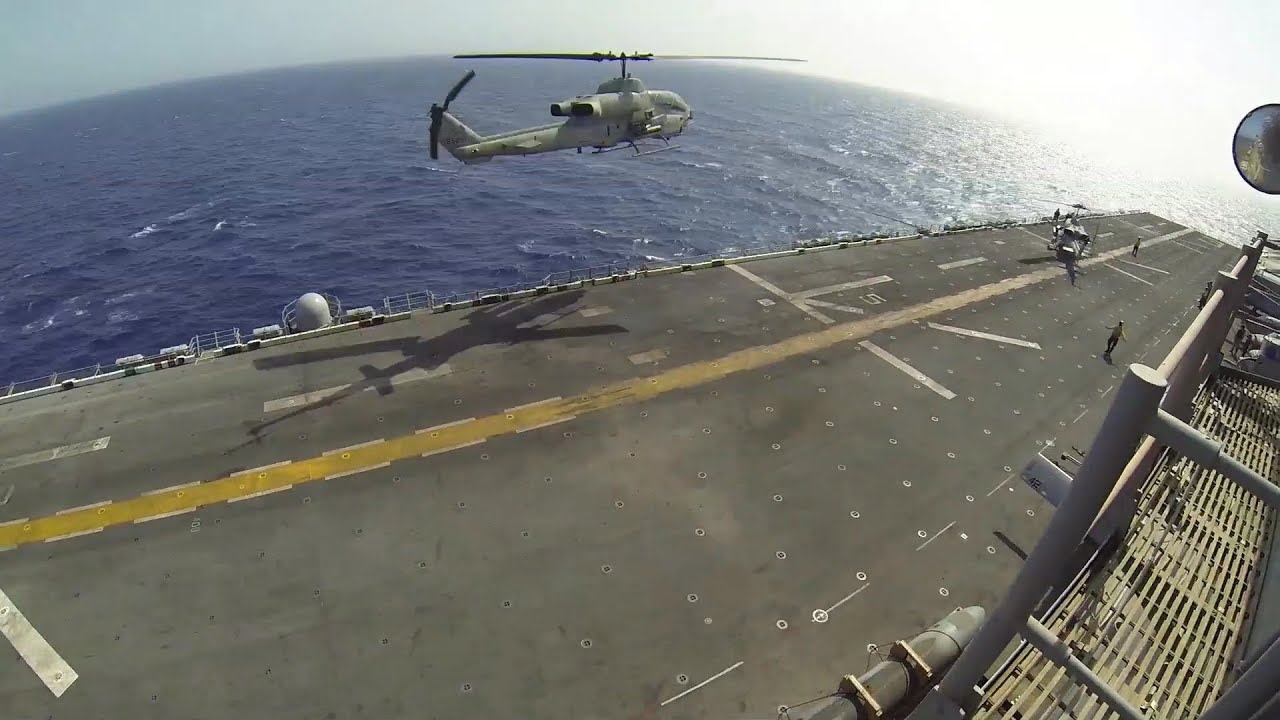 A Day in the Life: Marines at Sea