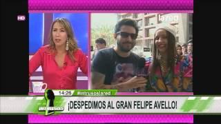 La despedida de Felipe Avello