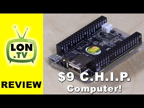 $9 CHIP Computer Review - Does the C.H.I.P Kickstarter Deliver?