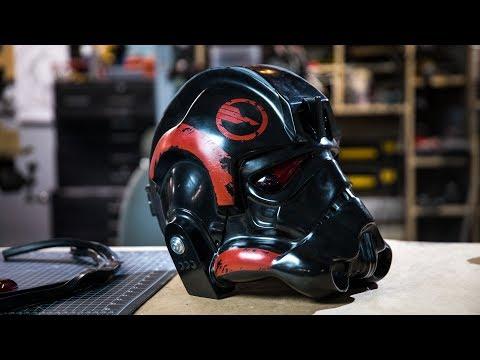 Making a Star Wars Battlefront 2 Helmet for Janina Gavankar!