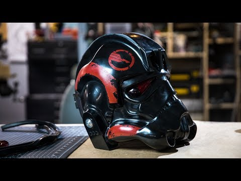 Making a Star Wars Battlefront 2 Helmet for Janina Gavankar! Sponsored