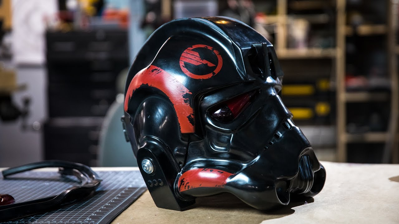 making a star wars battlefront 2 helmet for janina