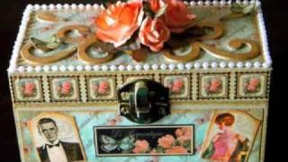Le' Romantique Altered Box & Tags