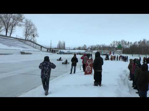Гонка на снегоходах и картинг Салават