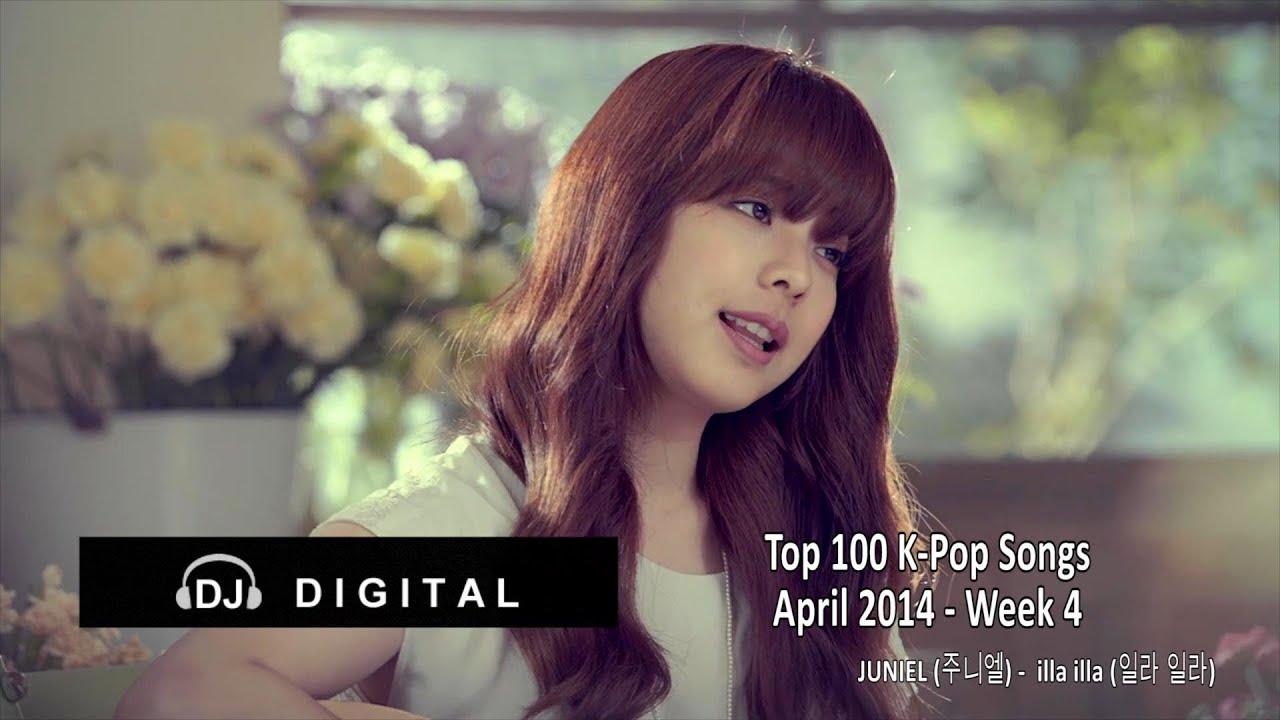 Top 100 K-Pop Songs for April 2014 Week 4