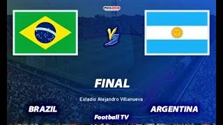 PES 2019 | BRAZIL vs ARGENTINA | FINAL CUP | Penalty Shootout | Gameplay PC