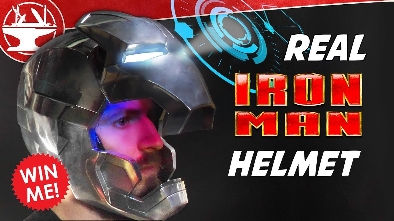 The Hacksmith: Iron Man Helmet HUD