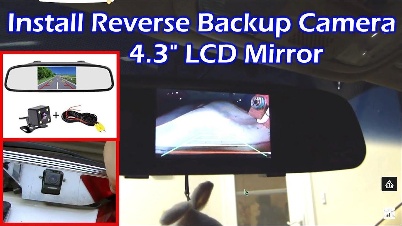 Rear View Mirror Backup Camera Wiring Diagram from i.ytimg.com