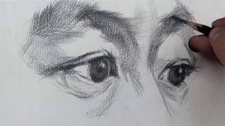How To Draw Eyes | Time-Lapse