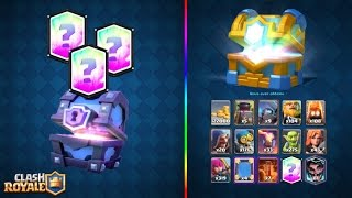 Clash Royale OMG 3 LEGENDAIRE PACK OPENING EPIC  !