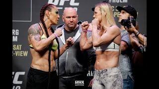 Video UFC 219 Weigh-Ins: Cris Cyborg vs. Holly Holm Staredown - MMA Fighting download MP3, 3GP, MP4, WEBM, AVI, FLV November 2018