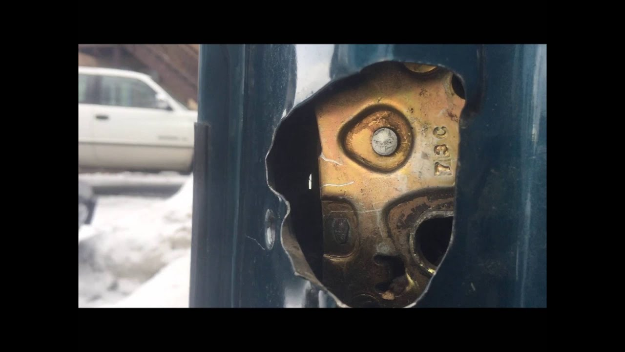 hight resolution of chevy astro van and gmc safari door handle replacement easy instructions
