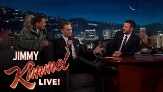Guillermo and Tom Hiddleston Sing Together