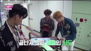 Download Video 170816 EXO @MBC Show Champion (Behind the stage) MP3 3GP MP4