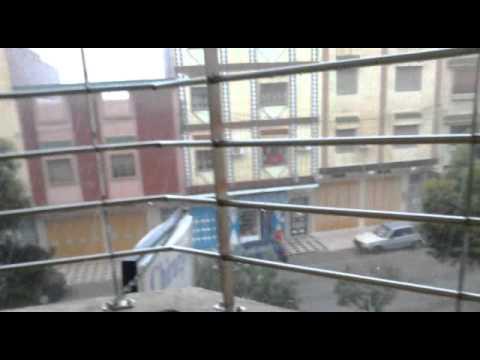 oujda et meteo:  voir la grandeur du grele 6/6/2011