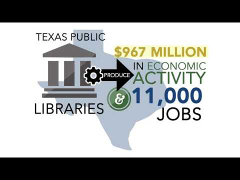 Texas Public Libraries: Economic Benefits and Return on Investment