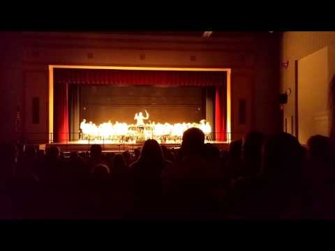 Themes from Jurassic Park by the Canandaigua Middle School 7th grade band