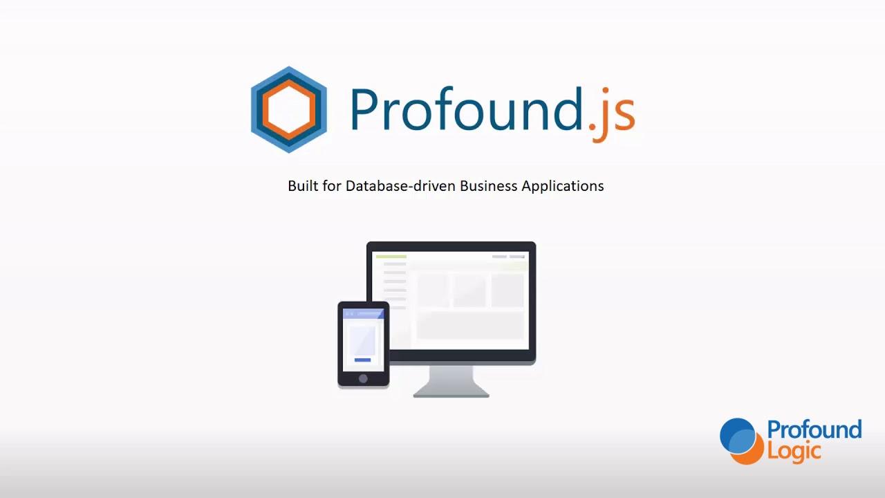 Profound js Overview - Profound Logic Documentation