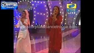 Jaspindar Narula Aj ral ke guzarange rat allah kare din na chade Scorpians India's Best DanceTroupe
