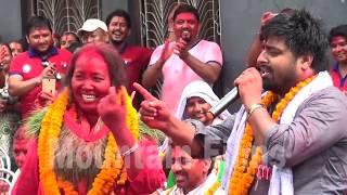 Nepali Comedy Video By Purkhe Ba पुर्खे बा ले हसाउदा तरुनी ले पाईन्ट मै पसिाब चुहाएर बिजोग
