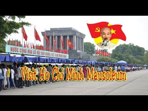 Visit Ho Chi Minh Mausoleum