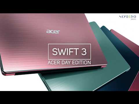 6 Jutaan Mevvah - Review Swift 3 Acer Day Edition SF314-54G Core I3-7020U