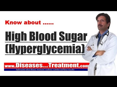 High Blood Sugar (Hyperglycemia) : Causes, Diagnosis, Symptoms ...