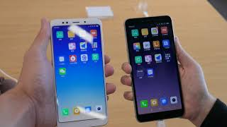 Redmi S2 Hands On VS Redmi 5 Plus #SamiLuo