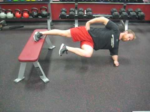 Hockey Training 2 Way Bunkie Side Plank Adductor Emphasis