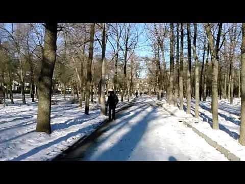 Bishkek.. Snow fall.!!!