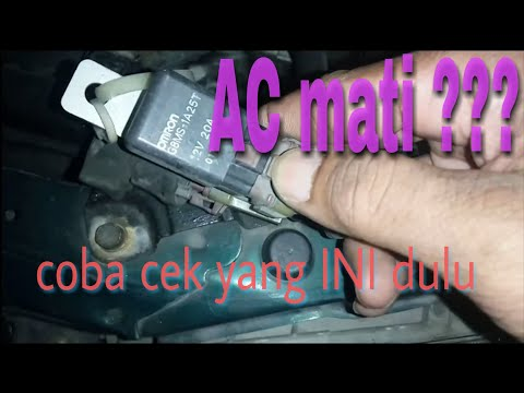 Cielo Air Conditioner is off. Check AC Relay and Relay AC Accord Cielo 1994-1998