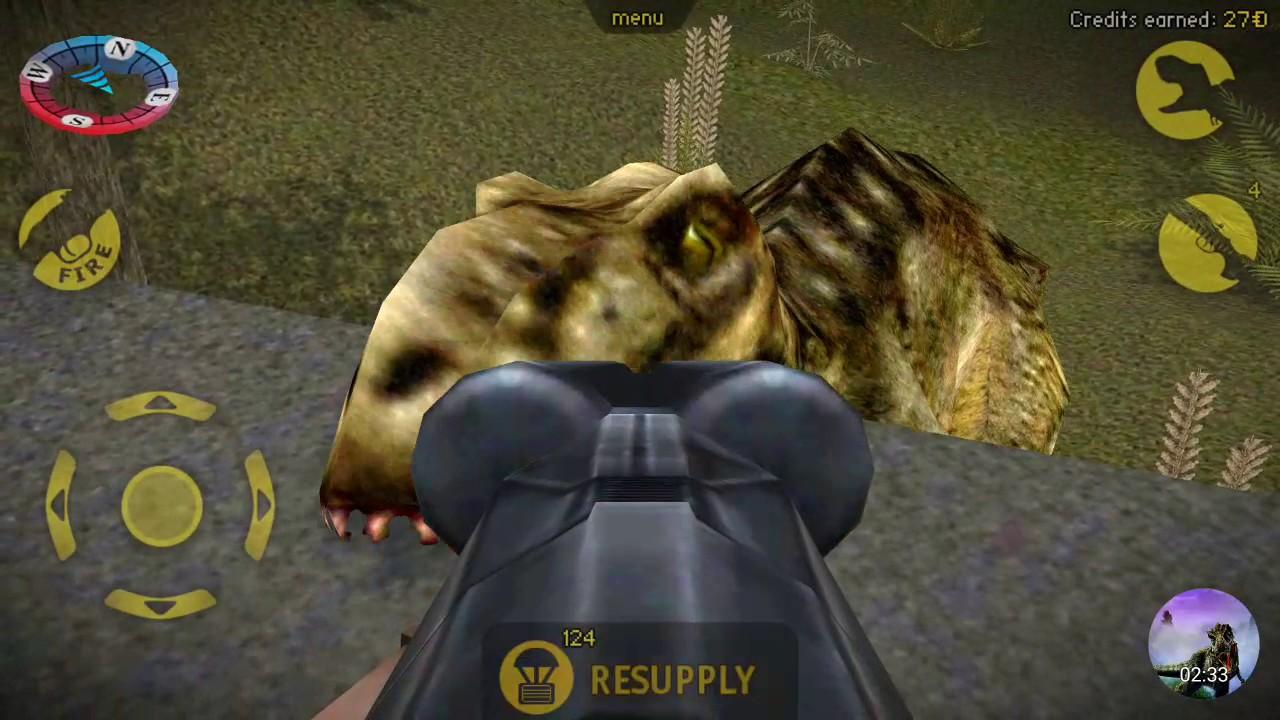carnivores dinosaur hunter trex and allosaurus hunting