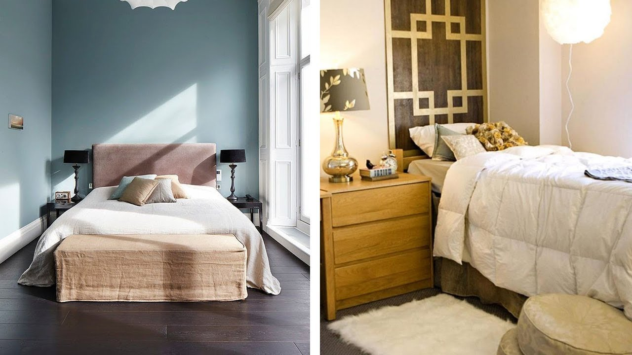 11 Small Bedroom Ideas to Make Your Room More Spacious - YouTube