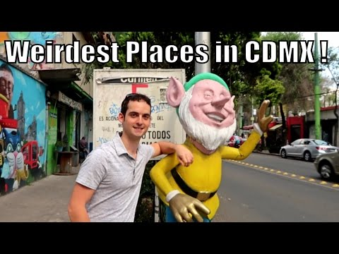 Mexico City Is WEIRD...(Find Out Why)